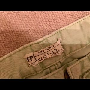 Free People Size 28 cucumber melon Skinny Jeans